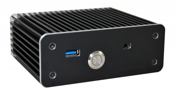 Mini-Case Fanless eNUC-i5-7200U